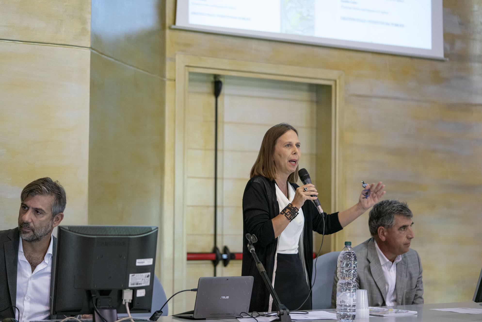 L'intervento di Teresa Demontis, presidente ordine architetti
